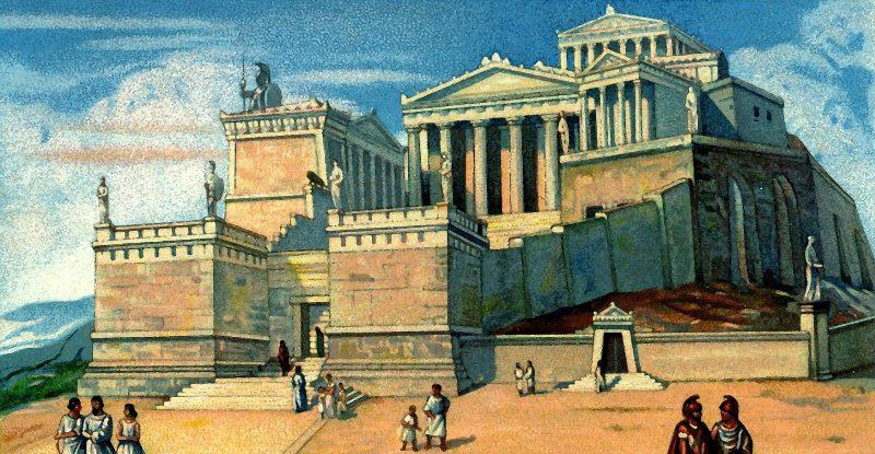 Griechische Akropolis
